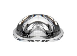 Glass Lens - 120°x55° Düz Dokulu Cam Lens GT-107-7