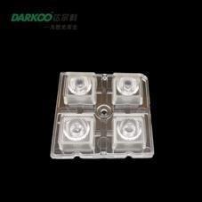 2x2 Blok 60° LED Lens DK5050-4H1-60(PMMA) - Thumbnail