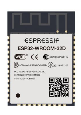 ESP32 WiFi BLE Modülü ESP32-WROOM-32D