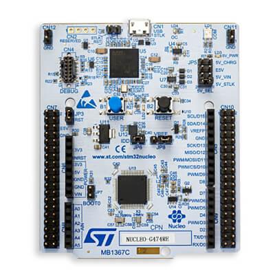 STM32 İşlemci Kiti NUCLEO-G474RE