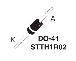 STMicroelectronics - STTH1R02
